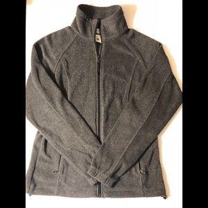 Slightly worn women's Columbia fleece jacket
